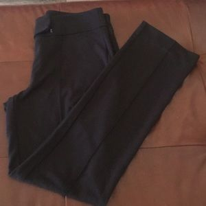 Rafaella Black Straight Leg Dress Pants